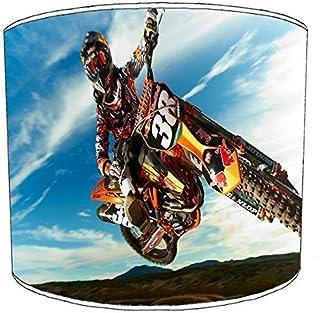 Premier Lighting Ltd 12 inch Motocross Print Abat-Jour 17 pour Un plafonnier