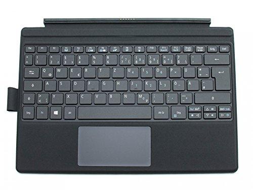 ACER Switch Alpha 12 (SA5-271P) Original Tastatur inkl. Topcase DE (deutsch) schwarz/schwarz mit Backlight