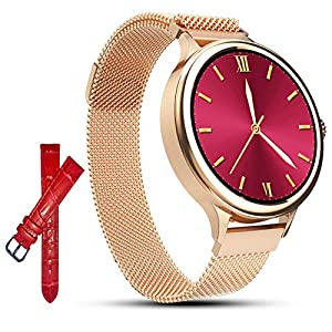 AMATAGE Smart Watch for Women for iPhone Android Phones, Fitness Activity Tracker Watch with Heart Rate, Sleep Monitor…