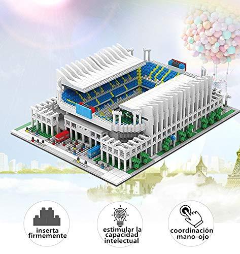 N\P Puzzle 3D Stade de Santiago Bernabéu Décoration de maiso