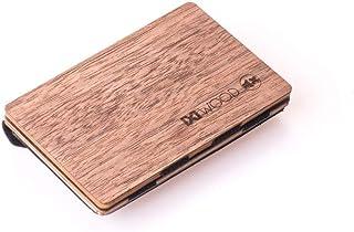 Amazon.es: madera - Carteras y monederos / Accesorios: Equipaje
