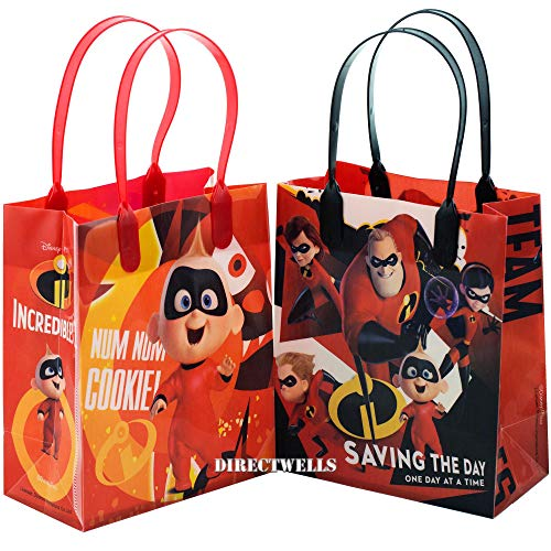 Incredibles Saving The Day 12 Party Favor Small Goodie Bags 6