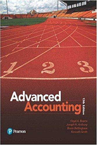 Advanced Accounting (13th Edition)