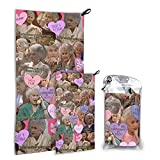 Golden Girls Bath Towels Cool Microfiber Super Soft Lightweight, Absorbent, Premium Quality Perfect for Daily Use, and Gym and Sports Travel Towel 27.5'X55'
