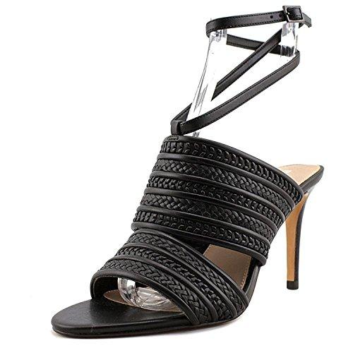 BCBGeneration Women's Karli Black Smooth Nappa/Smooth Calf Sandal