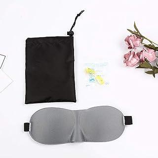 LYQLXL Sleep Mask Pack of 3, Lightweight and Comfortable, Super Soft, Adjustable 3D Contoured Eye Masks for Sleeping,Shift...