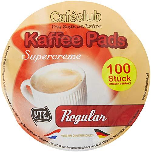 Cafeclub Supercreme Megabeutel Kaffeepads Regular 100 Stück