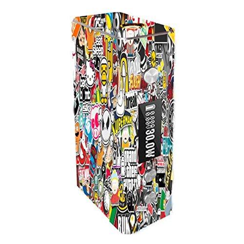 Cloupor Cana Mini 30W Vape E-Cig Mod Box Vinyl DECAL STICKER Skin Wrap / Cartoon Sticker Bomb