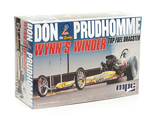 MPC Don Snake Prudhomme Wynns Winder Dragster 1:25 Scale Model Kit Replica -  Round 2, LLC, MPC921