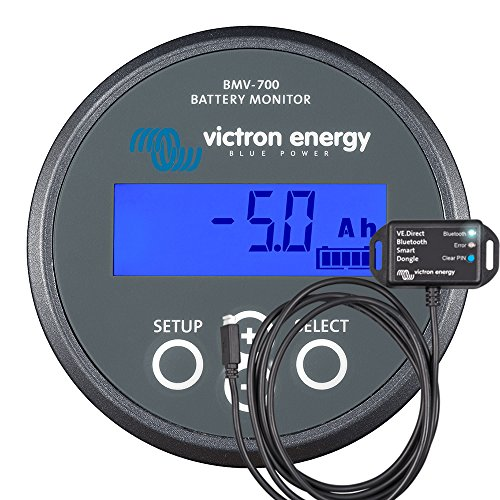Victron Battery Monitor BMV700 with VEDirect Bluetooth Smart Dongle