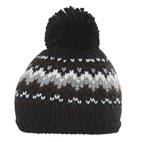 Chaos Bonnet pour Femme Miranda, Black, One Size, 4171032361