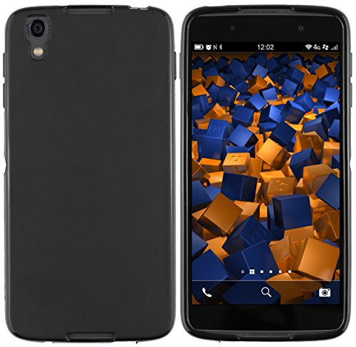 mumbi 13924 Hülle kompatibel mit BlackBerry DTEK50 Handy Hülle Handyhülle, schwarz