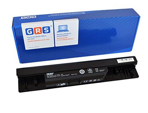 GRS Batterie JKVC5 pour Dell Inspiron 1564, 1464, 1764, remplacé: JKVC5, 05Y4YV, 0FH4HR, 5YRYV, 9JJGJ, NKDWV, TRJDK, 451-11467, Laptop Batterie 4400mAh, 11.1V