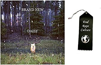 Brand New Daisy Vinyl Record with Ribbon Bundle