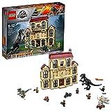 LEGO 75930 Jurassic World - Caos del Indorraptor en la Mansión Lockwood, Set de Construcción con Dinosaurios de Juguete