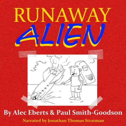 Runaway Alien audiobook cover art