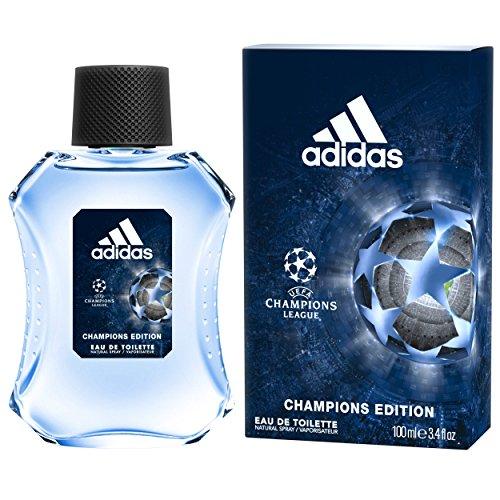 Adidas UEFA Champions League Edition Eau de Toilette Spray for Men, 3.4 Ounce
