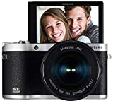 Samsung NX300M 20.3MP CMOS Smart WiFi & NFC Mirrorless Digital Camera with 18-55mm Lens and 3.3' AMOLED Touch Screen (Black) (Certified Refurbished)