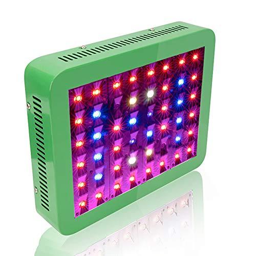 Kumiy ? 300W Vollspektrum LED Grow Lights für Zimmerpflanzen mit Doppelschalter Veg/Bloom/Daisy Chain Anschluss für Zimmergewächshaus Grow Plants Shop