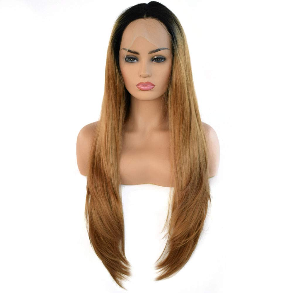 ShiSyan Long Wavy Layered Brown Heat Safe Synthetic Hair Fr Lace Ultra-Cheap Deals Animer and price revision