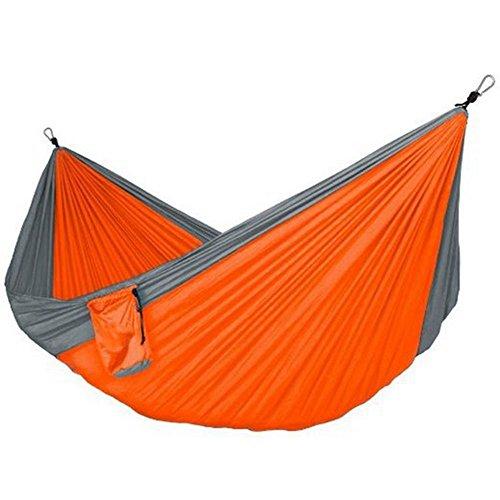 TYJKL Hamaca portátil de Camping Doble Camping Hamaca con la Hamaca Árbol de Banda portátil Hamaca de Nylon