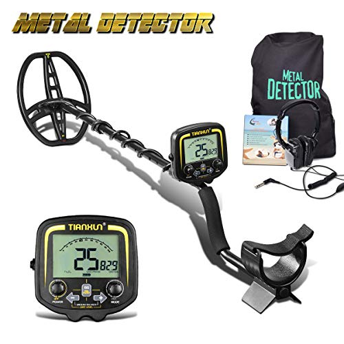 HOOMYA Professional Underground Metal Detector with LCD Display and Headphone, Depth 2.5m Scan for Outdoor Probe Metal-TX850