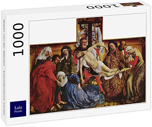 Puzzle Rogier Van Der Weyden   Deposición de Cristo Desde la Cruz 1000 Piezas