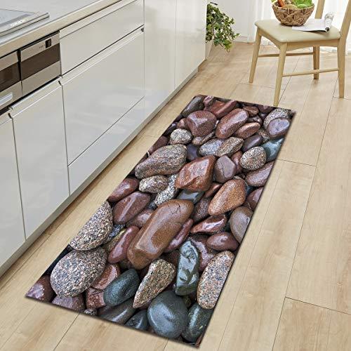 OPLJ Alfombrilla de Cocina para sofá, Alfombra de baño, Alfombra de baño, Juego de alfombras y alfombras de baño, Juego de alfombras de baño A2 40x120cm
