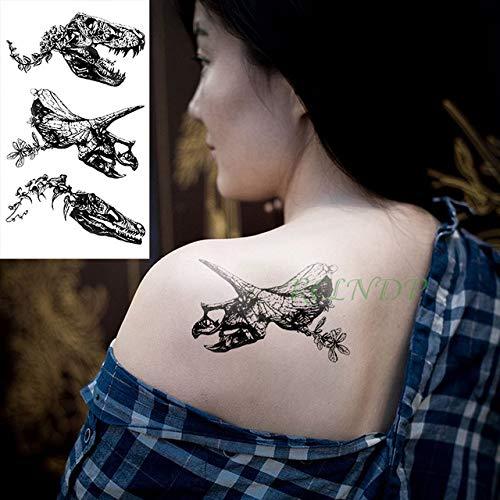 Handaxian 5pcsPegatina de Tatuaje a Prueba de Agua Tigre Animal ...