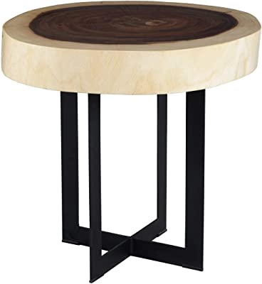 247SHOPATHOME IDF-4312E end-Tables Dark Oak