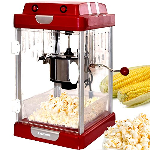 Syntrox Germany Chef_Maker_PCM-310W_Texas Popcornmaker, Kunststoff