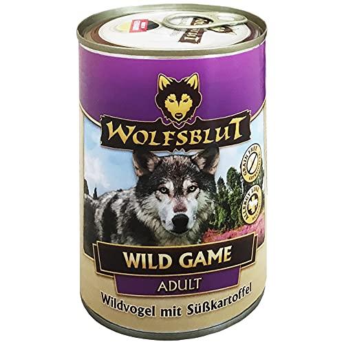 Wolfsblut | Wild Game | 6 x 200 g | Rebhuhn und Wildtaube | Nassfutter | Hundefutter | Getreidefrei