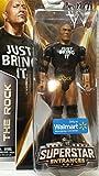 Mattel WWE Wrestling 2014 Exclusive Superstar Entrances Action Figure The Rock [Just Bring It T-Shirt]