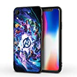 PUTEE Comics iPhone XR Case Full Body Protection Cover Cases (Avengers-mv)