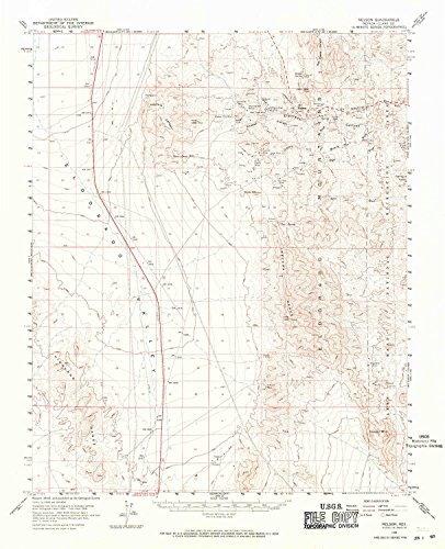 Nelson NV topo map, 1:62500 Scale, 15 X 15 Minute, Historical, 1958, Updated 1971, 20.9 x 17 in - Paper (Best Places To Work Remotely In Minneapolis)