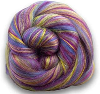 4 oz Paradise Fibers Soft & Silky Bambino Twinkle Twinkle - 85% 23 Micron Solid Color Merino Wool and 15% Dyed Bamboo Blend