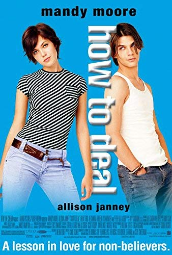How to Deal (2003) Original Movie Poster 27x40 - Dbl-Sided - Mandy Moore - Allison Janney