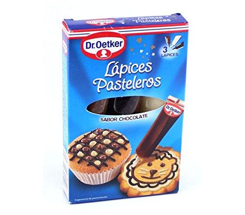Dr.Oetker 3 Lápices Pasteleros Sabor Chocolate, 59g