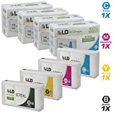 LD Remanufactured Ink Cartridge Replacement for Epson 676XL High Yield (Black, Cyan, Magenta, Yellow, 4-Pack)