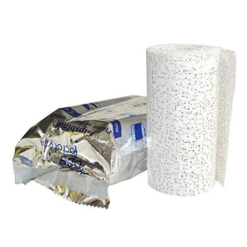 8x Gipsbinden zum Basteln - Großpackung a 10 cm x 300 cm (=24 Meter/ 2,4m²) von Tapefactory24 - Gipsbinde für Babybauch, Gipsmasken, Modelliergewebe für Modellbau NEU
