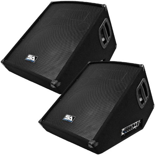 Seismic Audio - SA-15MT-PW-Pair Stage Monitors Wedge Style review
