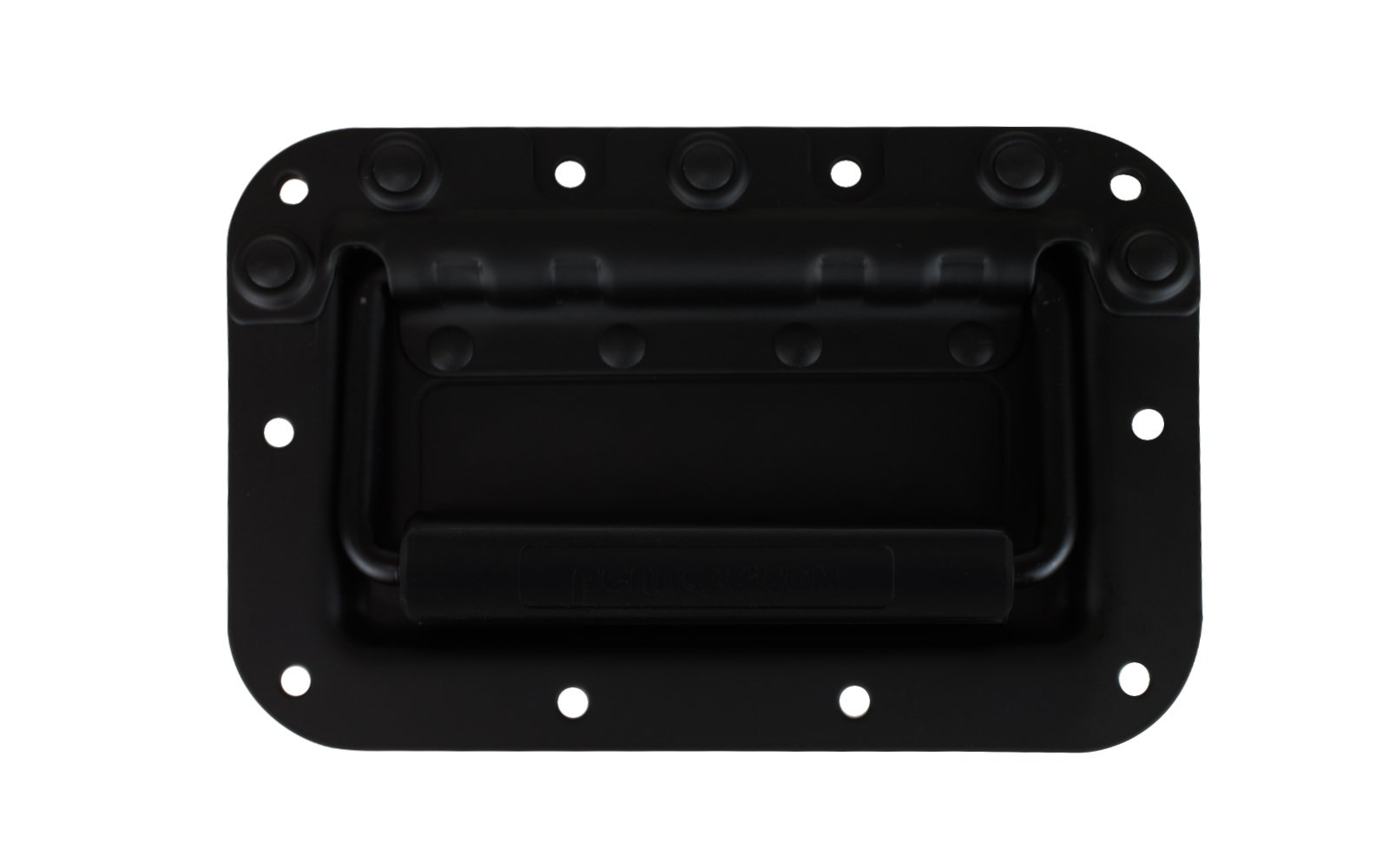 Amazon Com Penn Elcom H7154k Spring Loaded Rivet Protected Recessed Handle For Rolling And Flight Cases Black Electronics