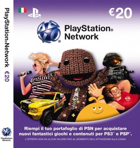 PS3, PSP - PSN Card Sony 20 EUR