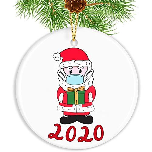 VSV 2020 Christmas Ornament Quarantine Funny Home Decor Christmas Decorations Clearance Christmas Ornaments