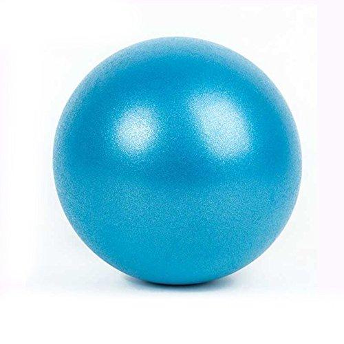 Leoie Yoga ejercicio culturismo Yoga Pilates Fitness Balance & Stability Mini pelota de PVC para ejercicio de postura de ejercicio, color azul