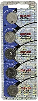 Maxell CR1616 Lithium Coin Cell  5 Pack
