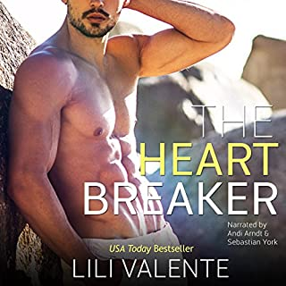 The Heartbreaker     The Hunter Brothers, Book 3              By:                                                                                                                                 Lili Valente                               Narrated by:                                                                                                                                 Andi Arndt,                                                                                        Sebastian York                      Length: 5 hrs and 2 mins     20 ratings     Overall 4.7