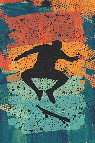 Skateboarding Notebook: Blank Lined Journal for Writing with a...