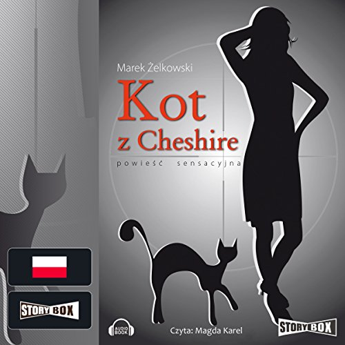 Kot z Cheshire audiobook cover art