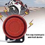 Dengofng Smart LCD-Fernbedienung Zwei-Wege-Automatik-Motorrad-Sicherheits-Kit Anti-Hijacking-Alarmsystem